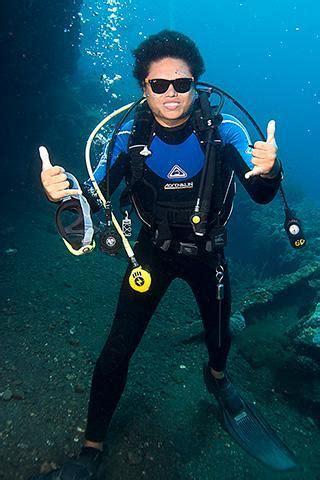 Selang Snorkel Scuba Diving go pro padi divemaster internship course in padang bai bali