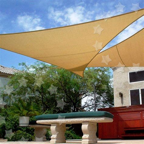 sunscreen awnings sun shade sail patio garden awning sunscreen canopy 98 uv