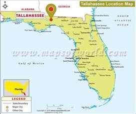 tallahasse florida map where is tallahassee located in florida usa