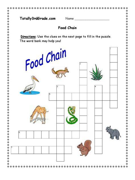 Food Chain Worksheet by Worksheets Food Chain Worksheet Atidentity Free