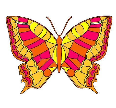 imagenes de mariposas para niños dibujo de mariposa pintado por libra en dibujos net el d 237 a