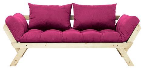 Futon Pink by Fresh Futon Bebop Convertible Futon Sofa Bed
