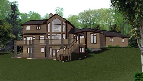 ranch house plans with walkout basement house plans with walkout basements simple ranch style