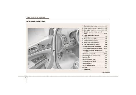all car manuals free 2007 kia sedona electronic toll collection 2007 kia sedona owners manual