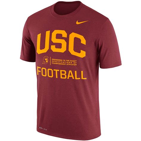 Nike Ncaa Usc Trojan Legend Day T Shirt nike ncaa usc trojans s legend shirts apparel shop the exchange