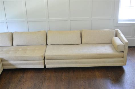 Antique Sectional Sofa Vintage Modern Three Sectional Sofa Circa 1950s At 1stdibs