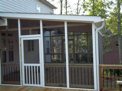 Screened Patio Design 25 Best Ideas About Screen Porch Kits On Screen Door Hardware Fly Screen Doors And