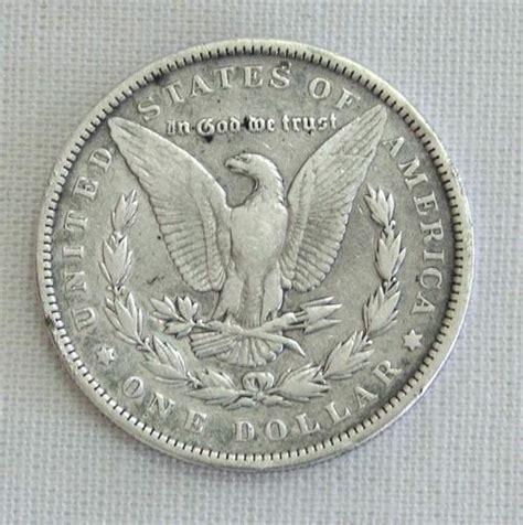 the americas 1891 silver morgan dollar usa e
