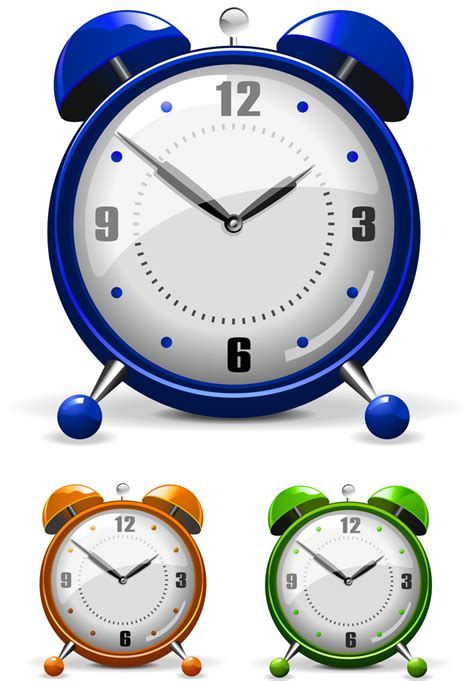 Alarm Vector vector colorful alarm clock free vector 4vector