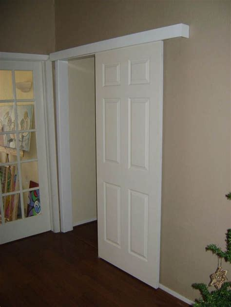 Swinging Closet Doors A Door For My Bathroom Didn T Room For A Pocket Door And Don T Like The Idea Of A Swinging