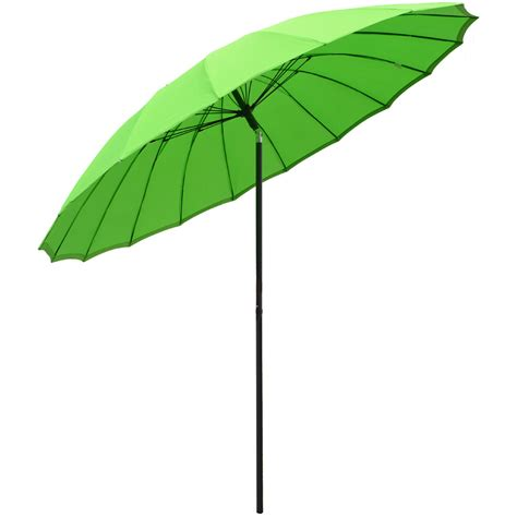 New 2 5m Tilting Shanghai Parasol Umbrella Sun Shade For Sun Umbrellas For Patio
