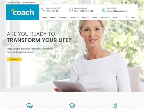 best coaches websites 10 best coaching themes 2018 athemes