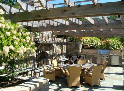 outdoor kitchen gardens what s the difference between a pergola and a gazebo