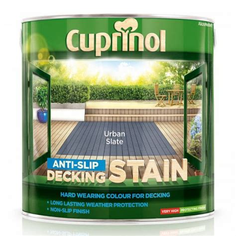 cuprinol anti slip decking paint   bm hotukdeals