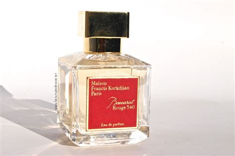Baccarat 540 Fragrances To professor fragrance focus maison francis
