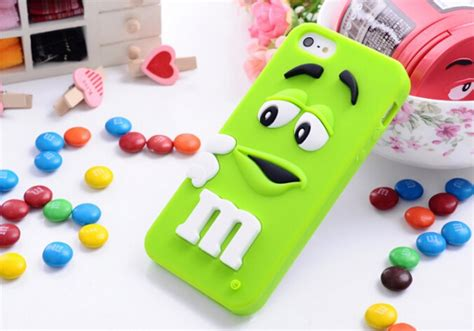 3d m m silicone back cover skin for apple iphone 4 4s 5 5s 5c 6 6s ebay