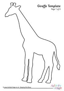 giraffe template giraffe template 2