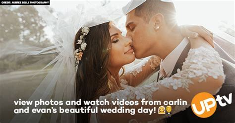 Wedding Photos   Videos: Carlin Bates & Evan Stewart   UPtv