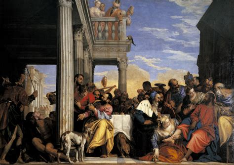 house of banquet veronese banquet at the house of simon paolo veronese alias paolo ca