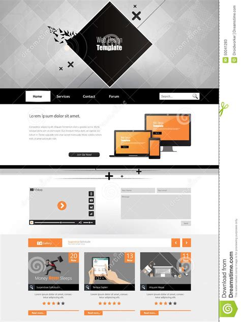 trendy templates modern trendy and creative website template abstract web