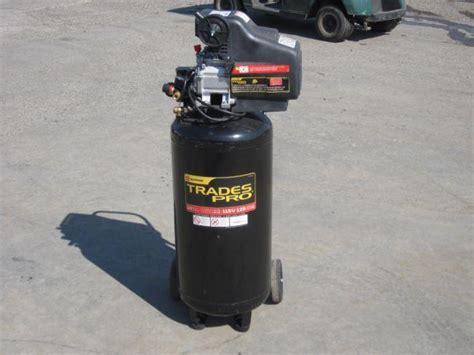 trades pro  gallon air compressor