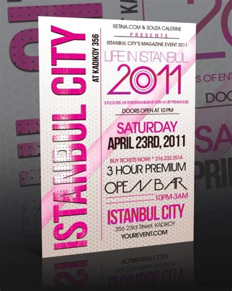 flyer layout inspiration cool typographic flyer design inspiration uprinting