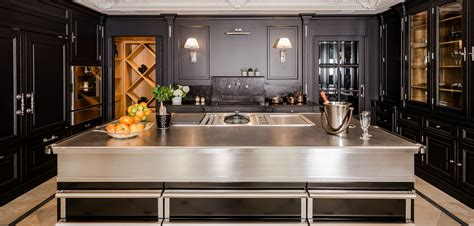 cuisine bois inox universal decoration luxury collections