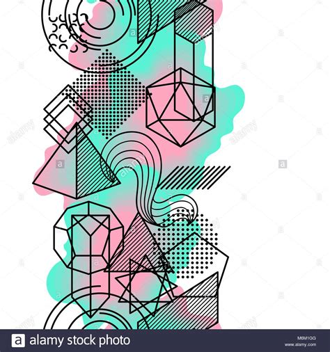 quot the blue pyramid illusion quot geometric expressionism geometrical illusion stock photos geometrical illusion