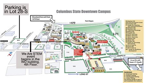 Columbus State Calendar Maps Directions Columbus State Community College