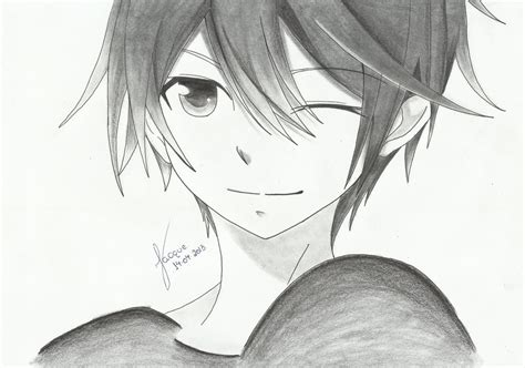 Anime Boy By Jacqueline Andreia On Deviantart Boy And Anime Drawing