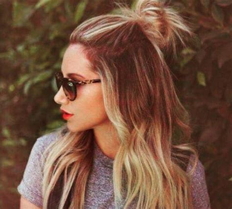 half trend 22 new half up half down hairstyles trends popular haircuts