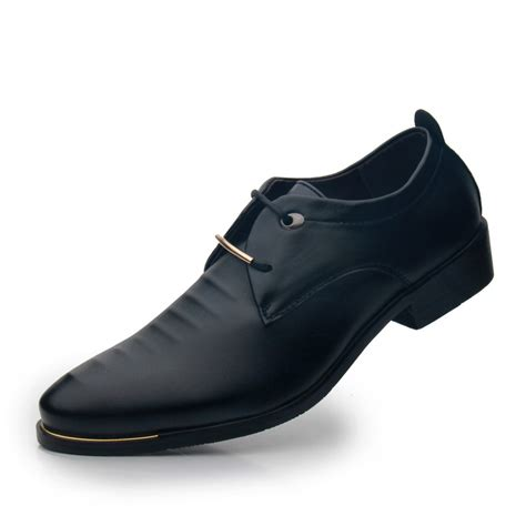 comfortable black dress shoes for women men business shoes new arrival men oxford dress shoes