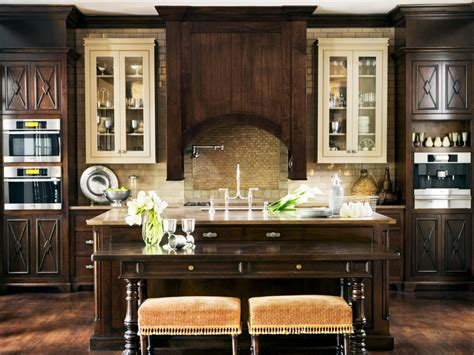 Decorating Ideas Above Kitchen Cabinets by Design An Old World Kitchen Hgtv
