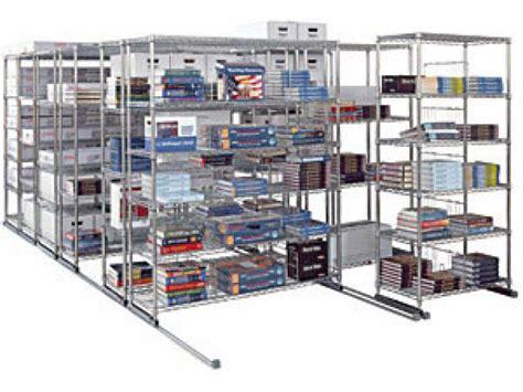Sliding Shelf System by 5 Section Sliding Shelf System 177x38 Quot Metal Shelving Units