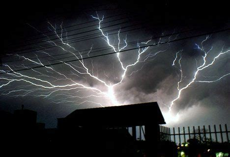 global warming could lead to more lightning deaths