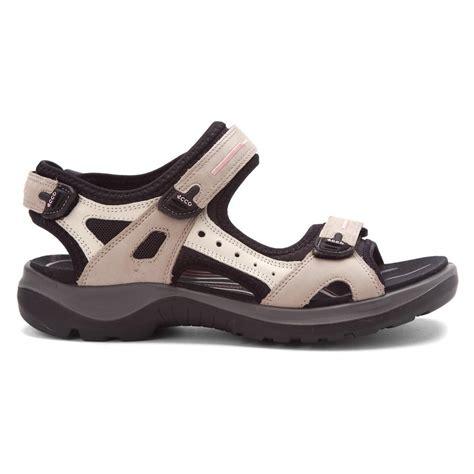 s ecco sandals ecco women s yucatan sandal sandals in atmosphere