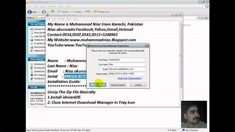 how to install full version internet download manager how to install internet download manager full version in