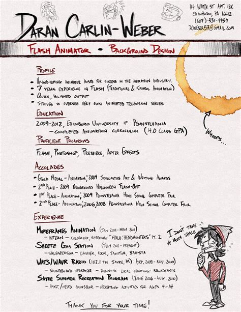 Chief Strategist Cover Letter by 2d Animator Sle Resume Chief Strategist Cover Letter