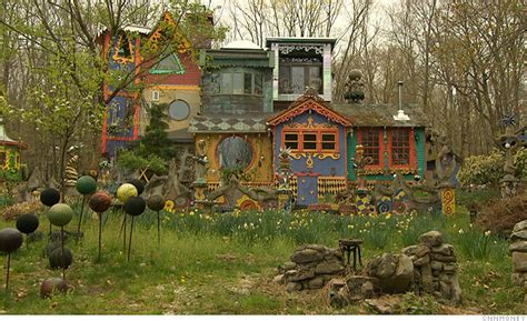 House Artists artist creates unique habitat in new jersey woodlands