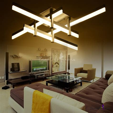 large modern ceiling lights large led bar modern cool lighted close to ceiling light