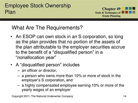 section 318 attribution rules ppt what is an employee stock ownership plan esop
