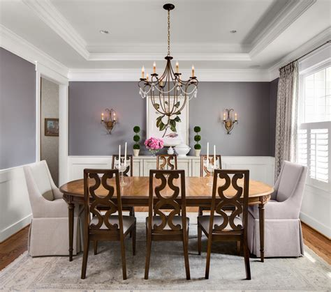 traditional  transitional flair traditional dining