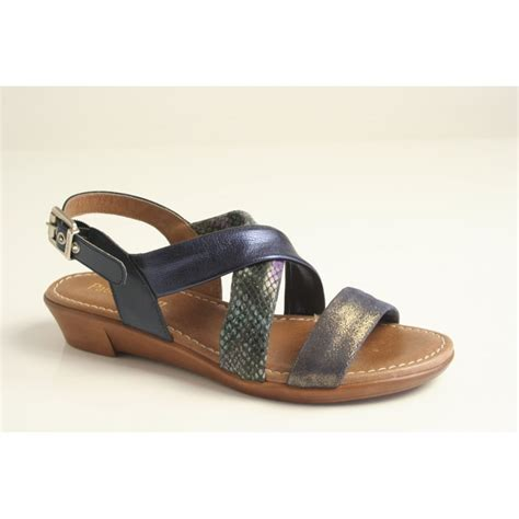sandals with buckles paula paula blue multi contrast sandal with