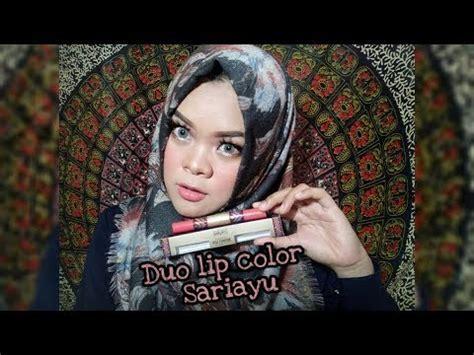 Eyeshadow Gili Lombok mini tutorial makeup simpel cobain duo lip color