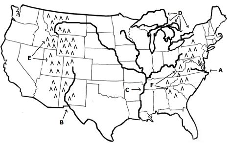 blank us map with mountain ranges and rivers blank us map with rivers and mountain ranges
