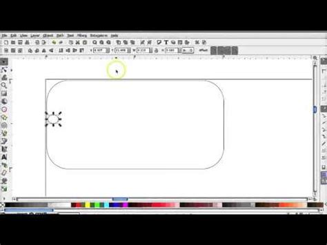 inkscape tutorial laser cutting how to use inkscape to laser cut a keychain youtube