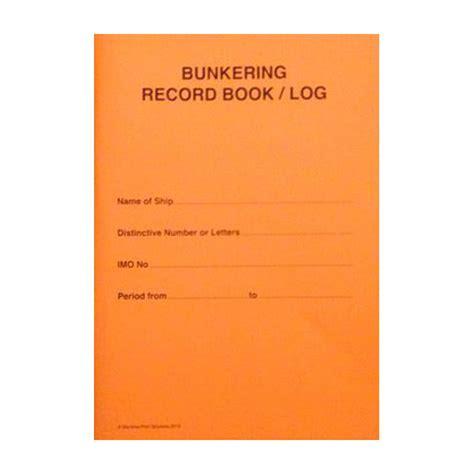 record book bunkering record book log maritime printing ship log
