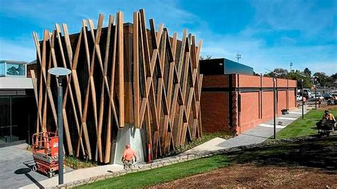 Bendigo Sheds And Garages by Fender Katsalidis Architect Reshapes Bendigo Gallery