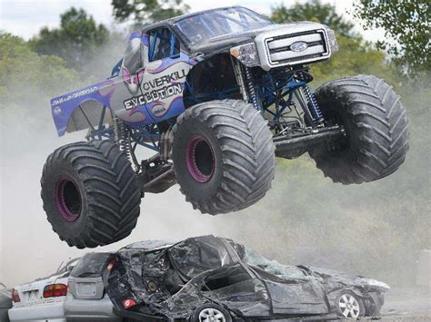 monster truck show ottawa monsters on the loose at capital fair ottawa citizen