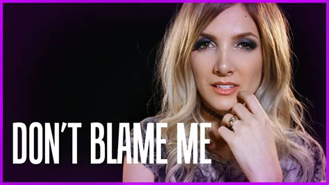 taylor swift don t blame me song taylor swift don t blame me rock cover by halocene
